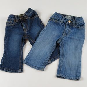 2 pairs of CHILDRENS PLACE Flare & Bootcut Jeans